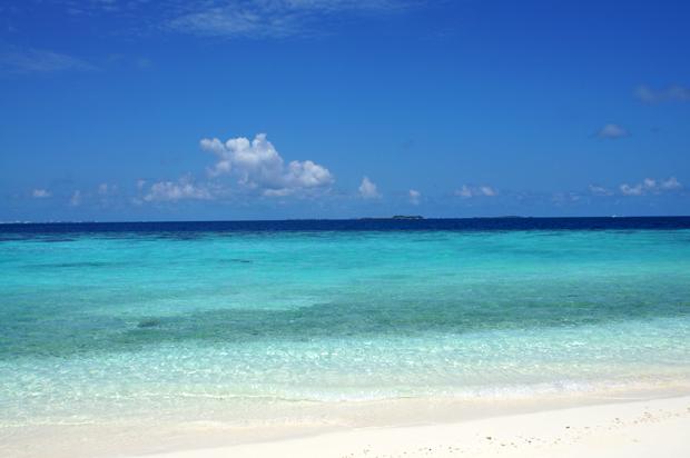 モルディブ 海辺