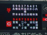14.8.15 今日のスタメン