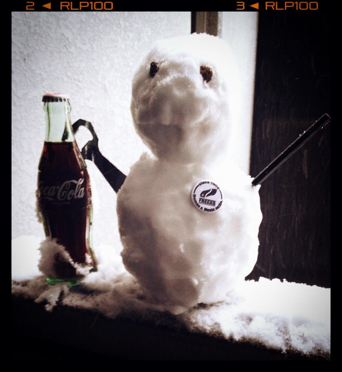 雪だるま 2014