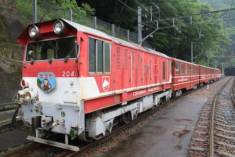 井川線ディーゼル機関車