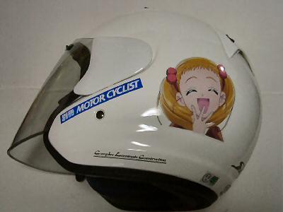 ヘルメット用ステッカー 005