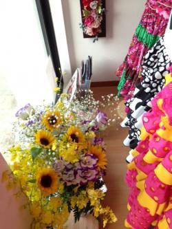 中里さんからお花