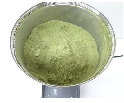 お茶をパウダー(粉末)にするミル