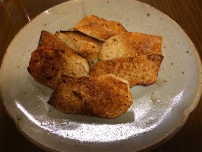 140330山芋のバターしょうゆ焼き