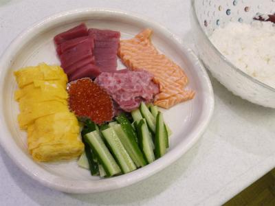 140706手巻き寿司
