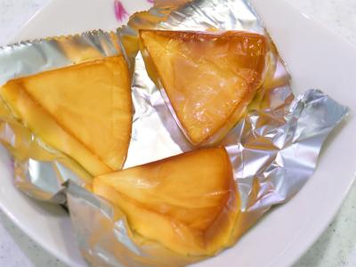 140810嬉しいおつまみ チーズの燻製