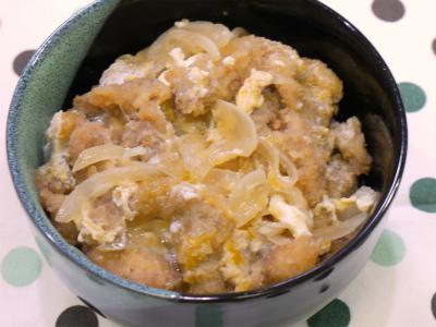 140814薄切り肉でローコストかつ丼 (8)