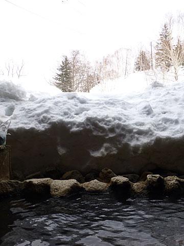 14 3/26 雪見風呂