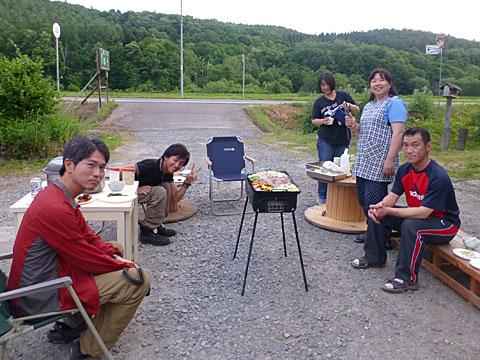 14 6/29 T大 BBQ