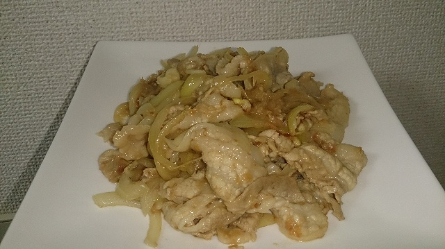タモリ流生姜焼き