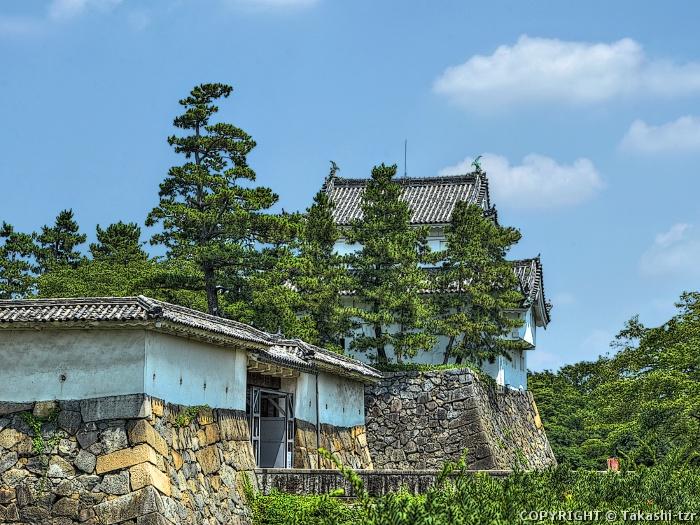 名古屋城表二の門・東南隅櫓