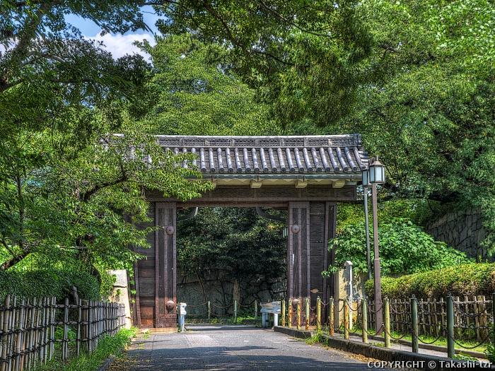 名古屋城二之丸大手二之門