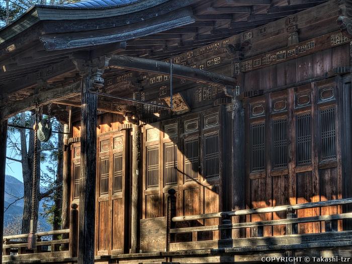 長谷寺本堂(山梨)
