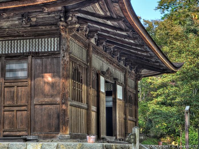 園城寺一切経蔵(経堂)