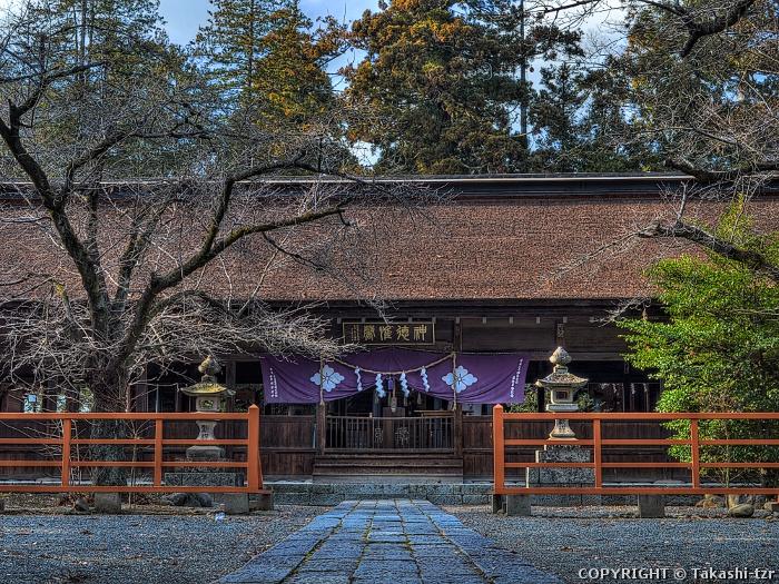 窪八幡神社拝殿(庁屋)