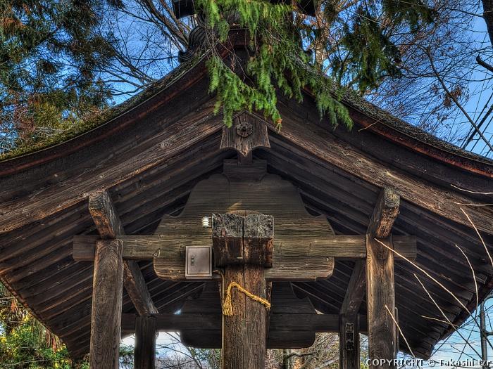 窪八幡神社神門