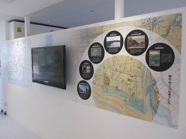 南砂町の歴史に関する解説パネル