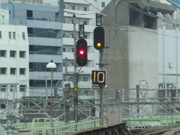 その先にあった第二場内信号機は第三場内に名称を変更し、信号機の数も整理された。