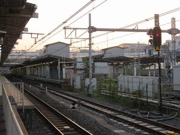 5番線東京方の第四場内信号機