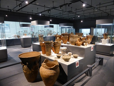 尖石考古館内部