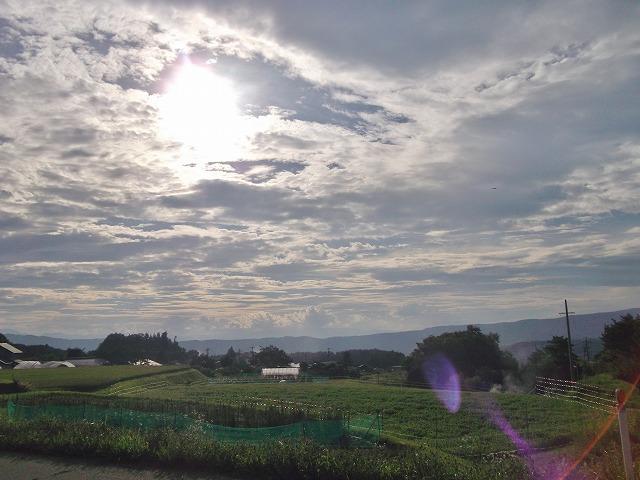 20140821見事な夕陽 (1)