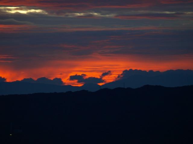 20140821見事な夕陽 (42)
