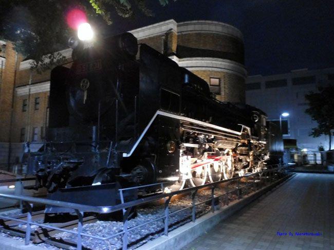 国立科学博物館汽車
