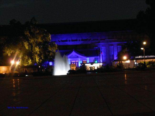 西洋美術館と噴水