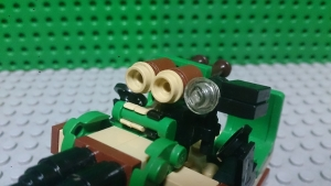光学照準器と高射ロケット