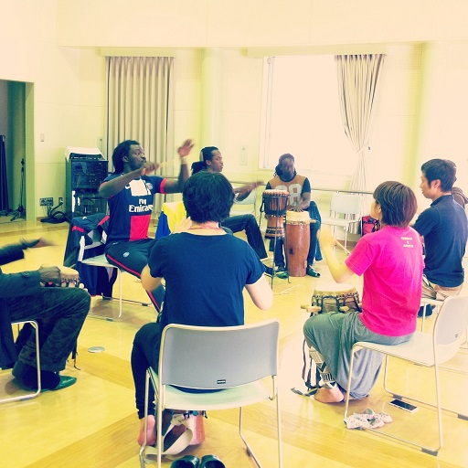 sabar drum class in March