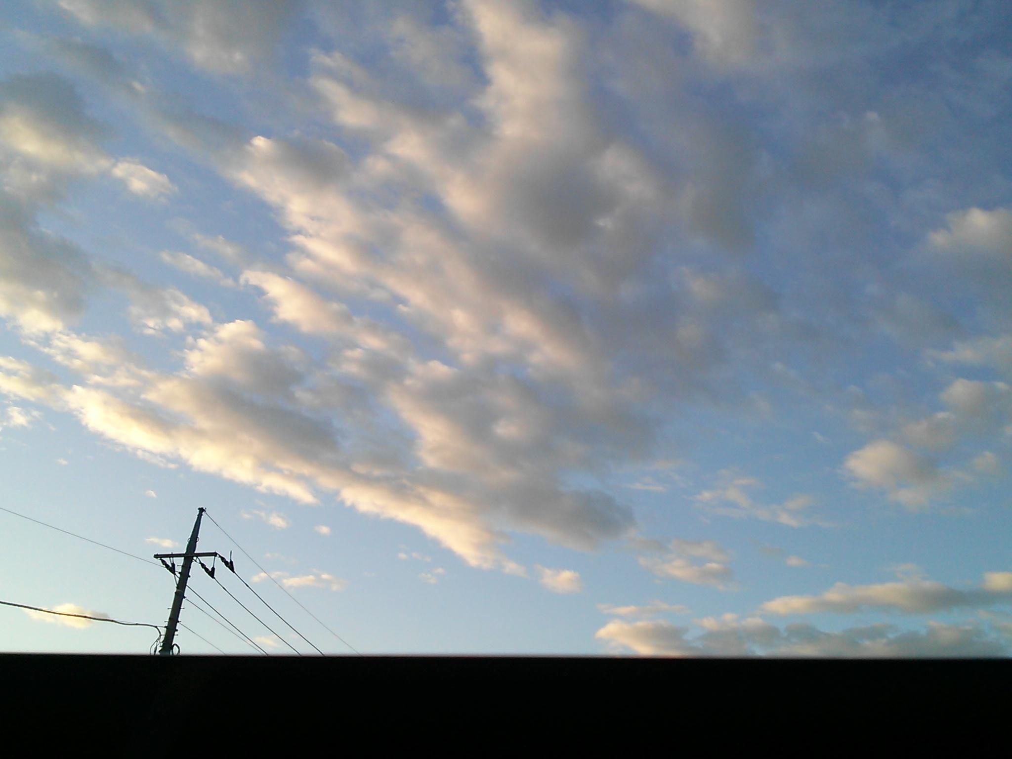8月5日朝5時の空