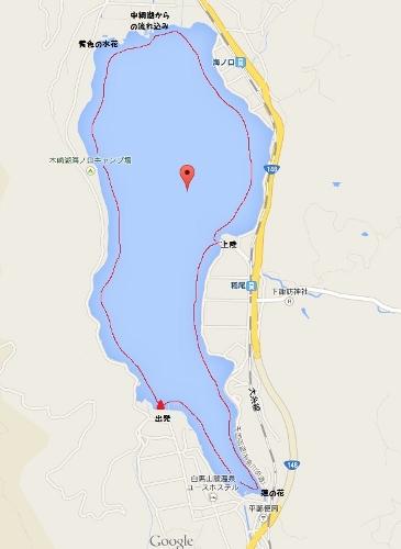 木崎湖カヌーコース (365x500)
