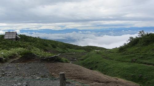 八方尾根途中からの東方の雲海 (500x281)
