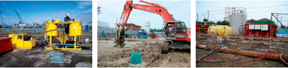 エンバイオ・ホールディングスの土壌汚染化工事サービス
