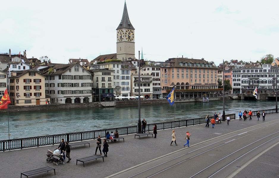 チューリッヒの風景