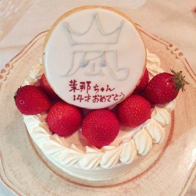 茉那ちゃんのケーキ