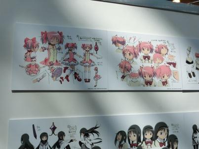 新千歳空港アニメフェア2014 魔法少女まどか☆マギカ3