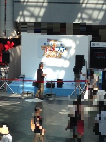 おいでませ!ランティス祭り!キャラバンイベント in 新千歳空港アニメフェア2014 1