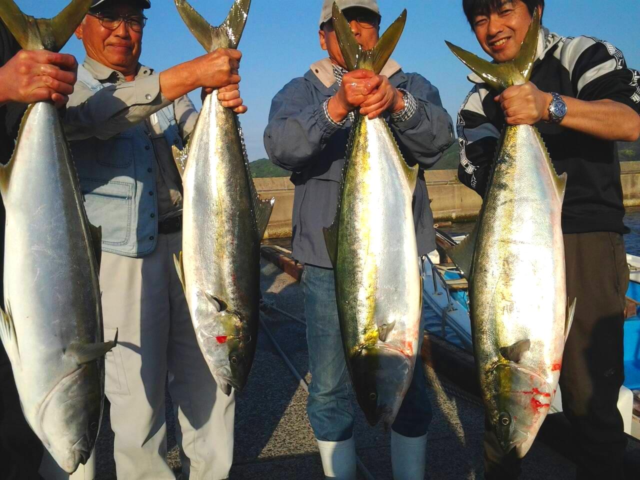 140501釣果(ヒラマサ大漁)