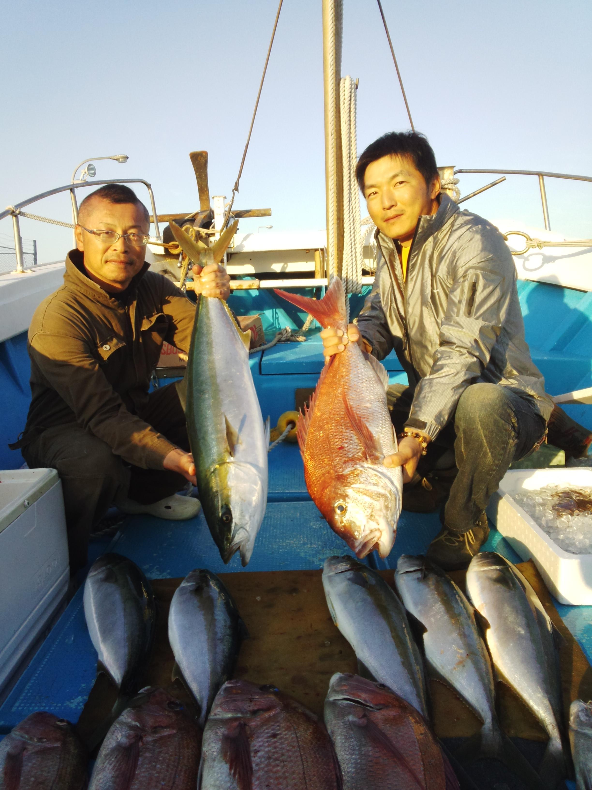 140506釣果(ヒラマサ、タイ)