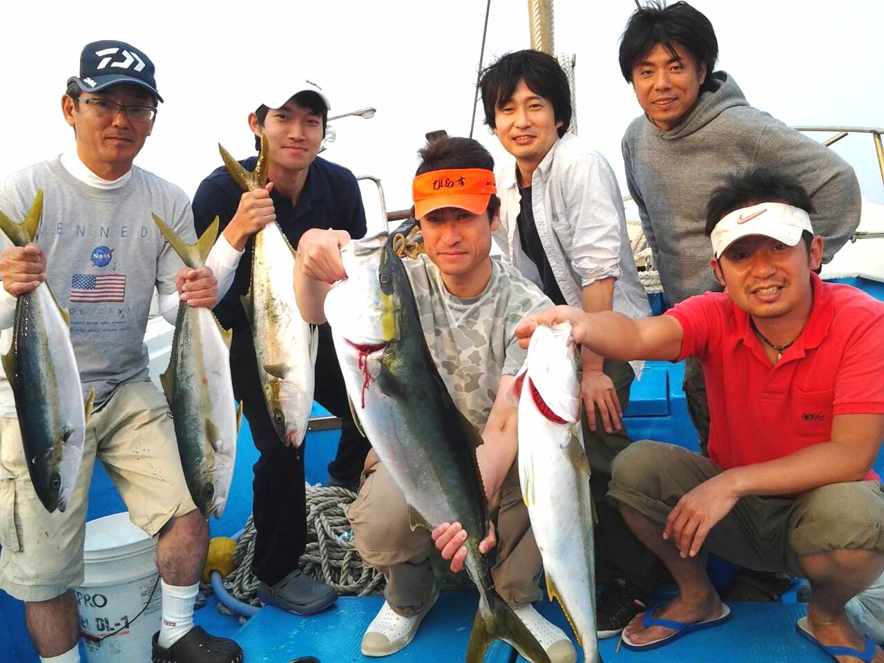140524釣果(ヒラマサ、メジ)
