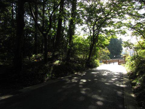 海道橋西詰の橋番所跡