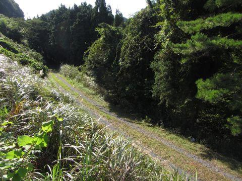 旧東海道 谷川付近