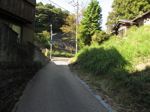 旧東海道 猪鼻集落