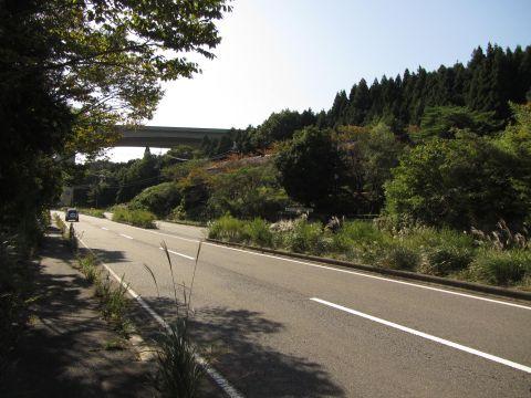 国道1号 土山町山中