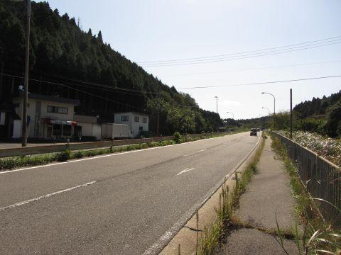 国道1号 土山町山中05