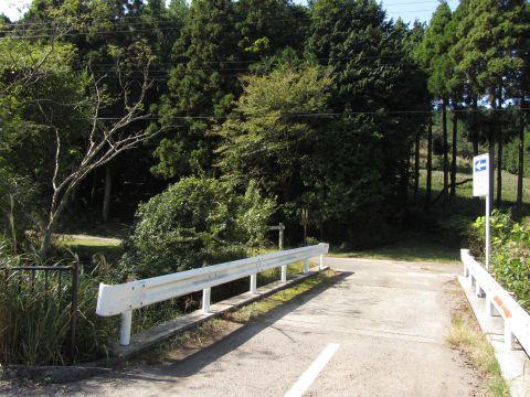 鈴鹿峠旧道出入口