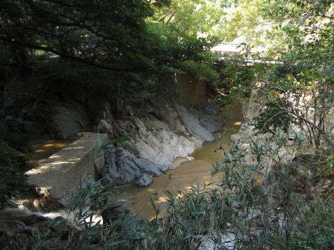 弁天橋と鈴鹿川
