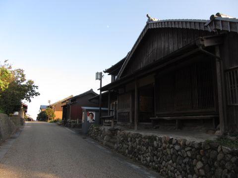 関宿西の追分休憩施設