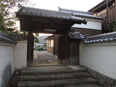 福蔵寺裏門
